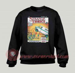 Strange Comics Custom Design Sweatshirt