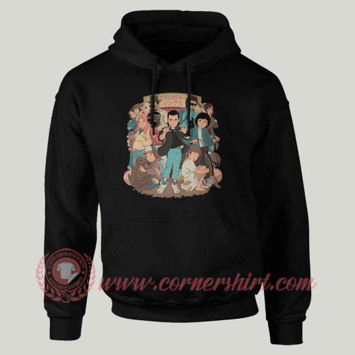 Stranger Anime Custom Design Hoodie