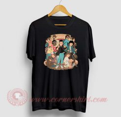 Stranger Anime Custom Design T Shirts