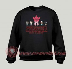 Stranger Kitten Custom Design Sweatshirt