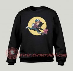 The Adventures Of Dustin Custom Sweatshirt