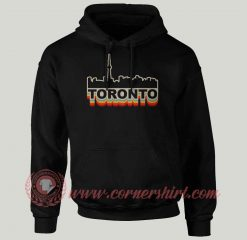 Toronto Skyline Custom Design Hoodie