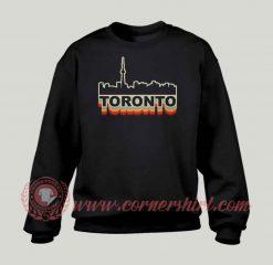 Toronto Skyline Custom Design Sweatshirt