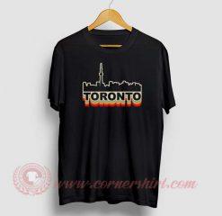 Toronto Skyline Custom Design T Shirts