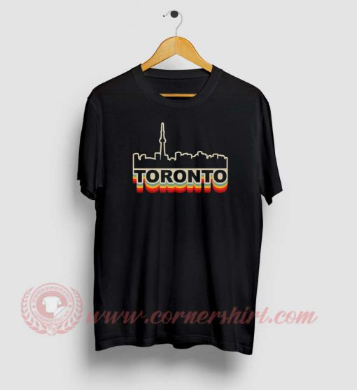 Toronto Skyline Custom Design T Shirts