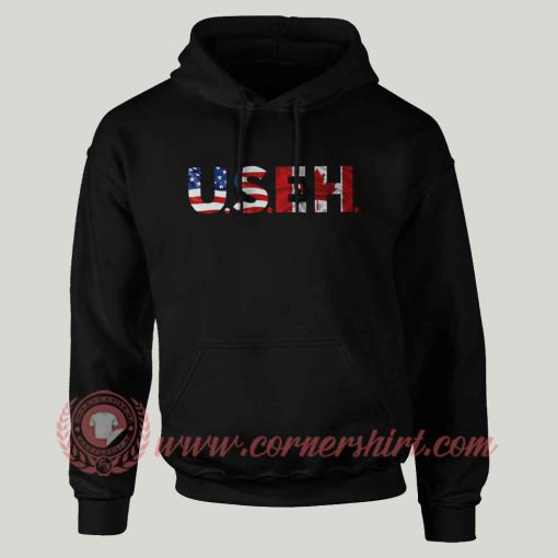 US E.H Custom Design Hoodie