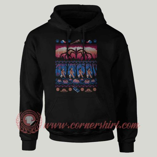 Ugly Stranger Things Custom Hoodie