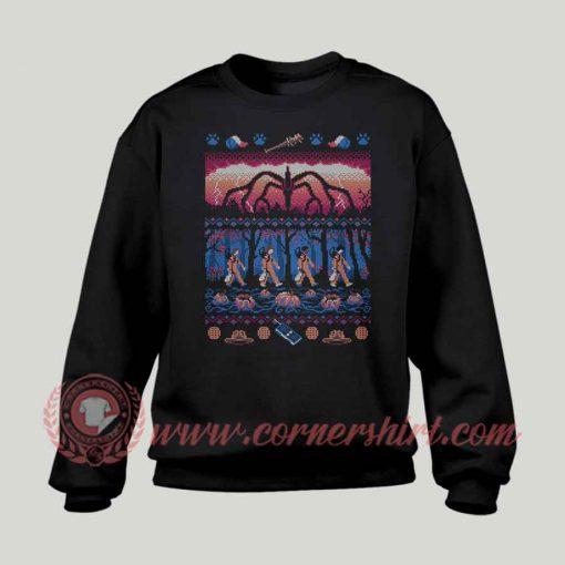 Ugly Stranger Things Custom Sweatshirt