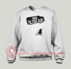 Van In The Air Custom Design Sweatshirt