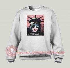 Lady Gaga The Statue Of Liberty Sweatshirt