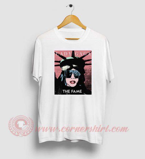 Lady Gaga The Statue Of Liberty T Shirts