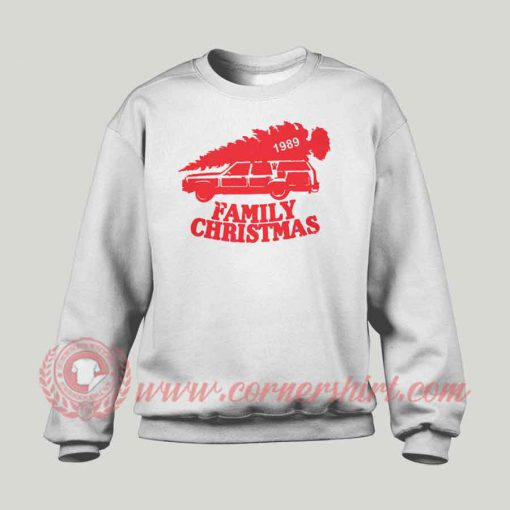 1989 Family Christmas Custom Sweatshirt