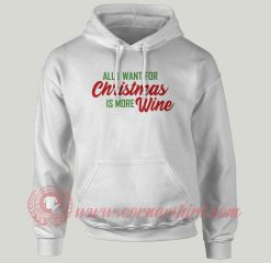 All I Want For Christmas Custom Hoodie