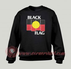 Black Flag Aboriginal X Flag Sweatshirt