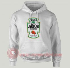 Catch Up With Jesus Christmas Custom Hoodie