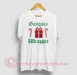 Gangsta Wrapper Christmas Custom T Shirt