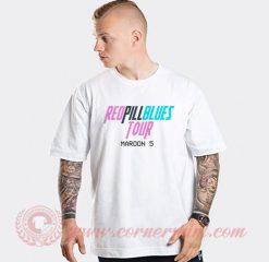 Red Pill Blues Tour Maroon 5 Custom T Shirts