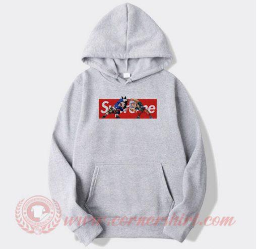 Supreme Dragon Ball Z Custom Hoodie