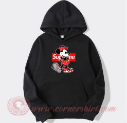 Supreme Minnie Mouse Custom Design Hoodie