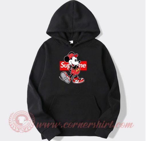 Supreme Minnie Mouse Custom Design Hoodie