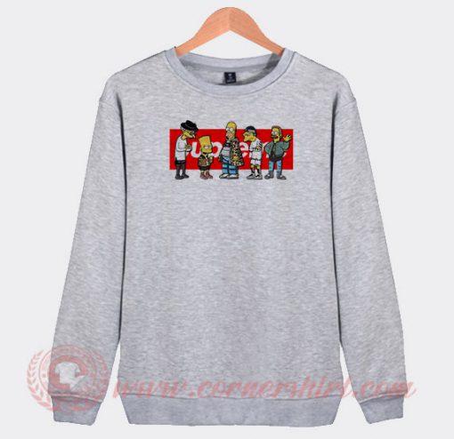 Supreme Simpson Custom Sweatshirt