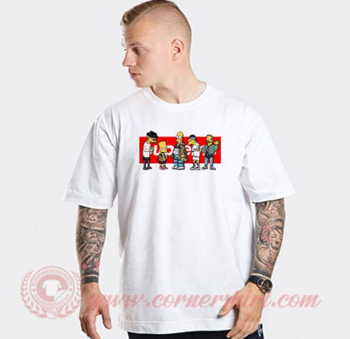 Supreme Simpson Custom Design T Shirts