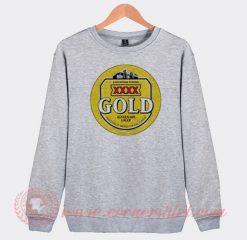 XXXX Gold Australian Lager Beer Custom Sweatshirt