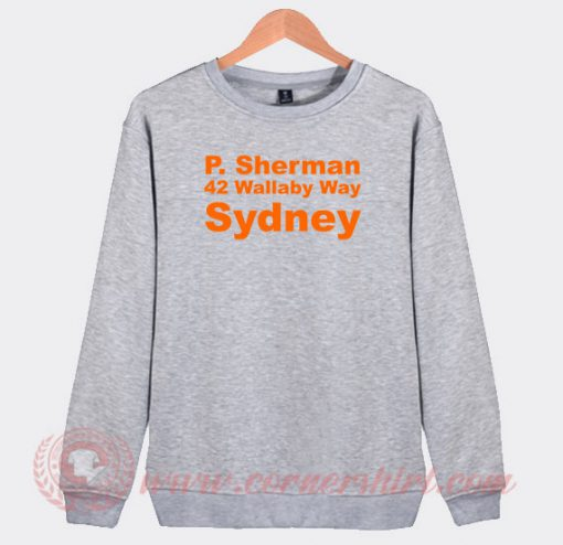 Finding Nemo P Sherman Sydney Custom Sweatshirt