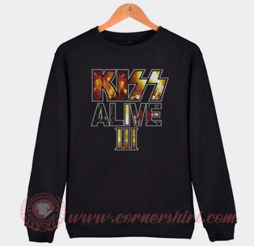 Kiss Alive 3 Custom Design Sweatshirt
