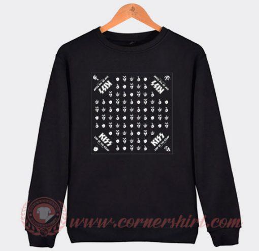 Kiss Tour Bandana Custom Sweatshirt