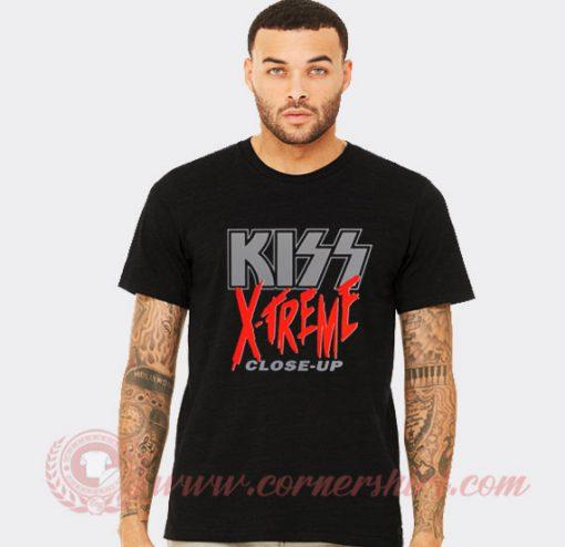 Kiss X Treme Close Up Custom T Shirts