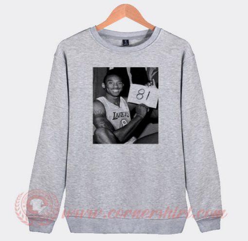 Kobe 81 Custom Sweatshirt