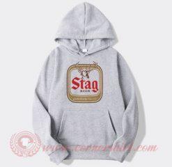 Stag Beer Custom Design Hoodie