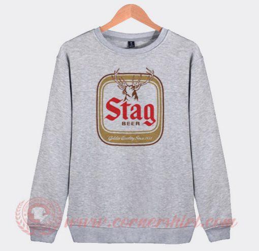 Stag Beer Custom Design Sweatshirt