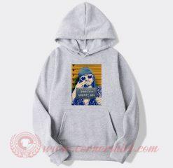 Kurt Cobain Mugshot Custom Hoodie