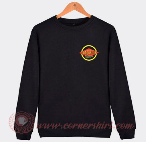 The Marathon Clothing X Fatburger Custom Sweatshirt