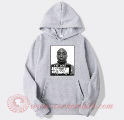 Tupac Shakur Mugshot Custom Hoodie