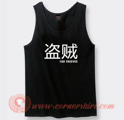 100 Thieves Merch Japanese Custom Tank Top