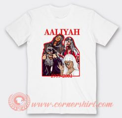 Aaliyah 1979-2001 Custom T-Shirts