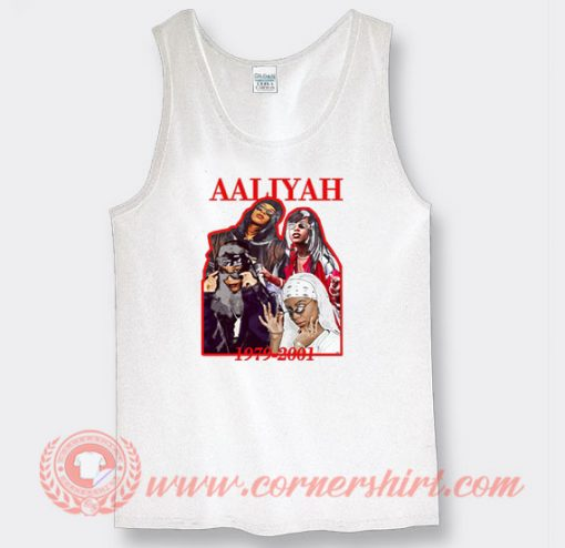 Aaliyah 1979-2001 Custom Tank Top