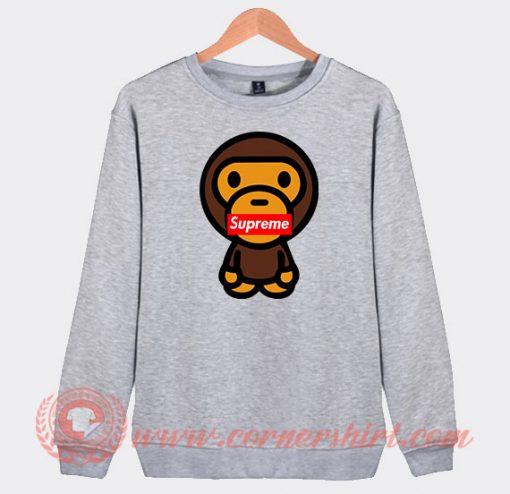 Baby Milo X Supreme Custom Sweatshirt