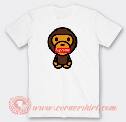 Baby Milo X Supreme Custom T-Shirts