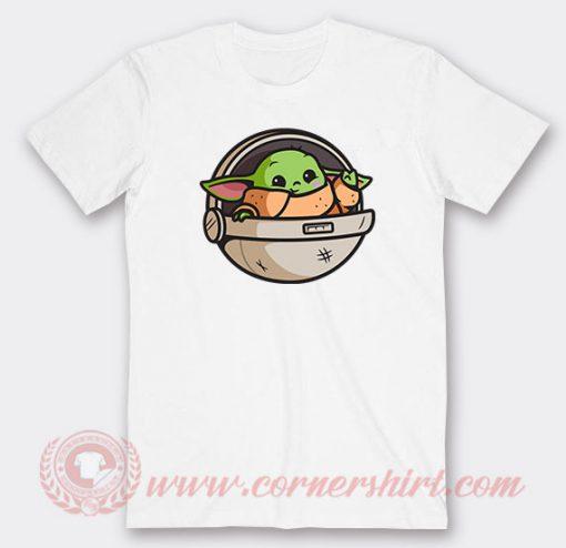 Baby Yoda Cute Custom T Shirts