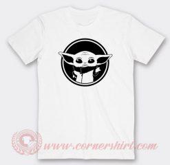 Baby Yoda Face Custom T Shirts
