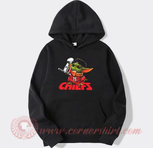 Baby Yoda Kansas City Chiefs Super Bowl Custom Hoodie