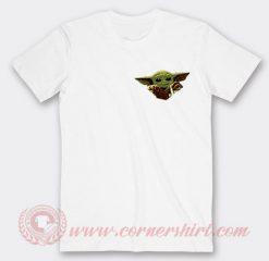 Baby Yoda Star Wars Fuck Custom T Shirts