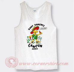 Bart Sanchez Cancun Mexico Custom Tank Top