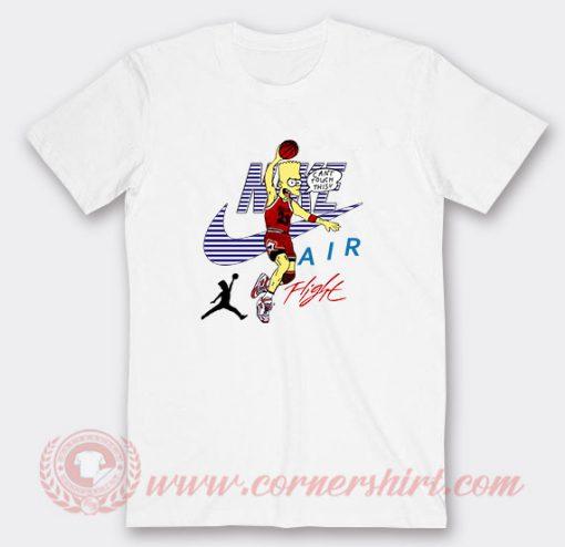 Bart Simpson Air Jordan Custom T Shirts