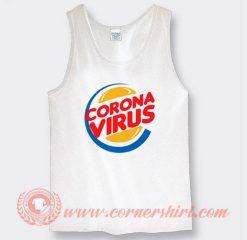 Burger King Corona Virus Custom Tank Top
