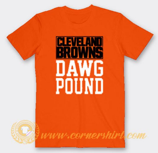 Cleveland Browns Dawg Pound Custom T-Shirts